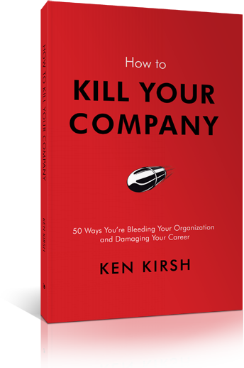 How to Kill Your Company Book Logo